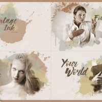 VIDEOHIVE VINTAGE INK – AFTER EFFECTS