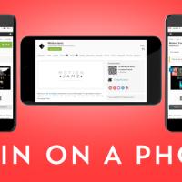 VIDEOHIVE ELEGANT WEB / APP PHONE PRESENTATION