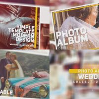 VIDEOHIVE WEDDING PHOTO ALBUM