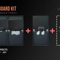 VIDEOHIVE ARRIVAL BOARD KIT