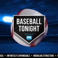 VIDEOHIVE BASEBALL TONIGHT GRAPHICS PACKAGE