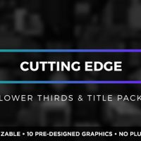 VIDEOHIVE CUTTING EDGE TITLES AND LOWER THIRDS