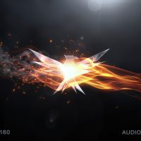 VIDEOHIVE ELEGANT FLAME LOGO