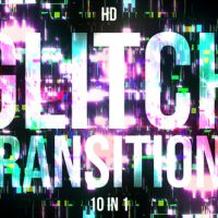 VIDEOHIVE GLITCH TRANSITIONS – MOTION GRAPHICS