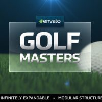 VIDEOHIVE GOLF MASTERS GRAPHICS PACKAGE