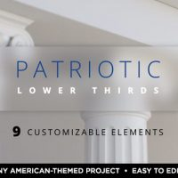 VIDEOHIVE PATRIOTIC LOWER THIRDS