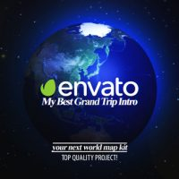 VIDEOHIVE BEST GRAND TRIP INTRO | WORLD MAP KIT