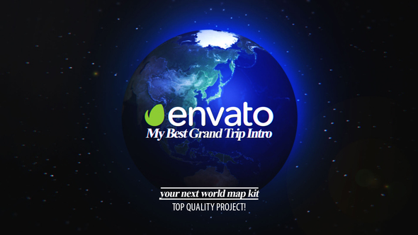 Best Grand Trip Intro | World Map Kit 21674484 - Free download