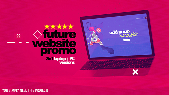 VIDEOHIVE FUTURE WEBSITE PROMO 2IN1 - Free After Effects