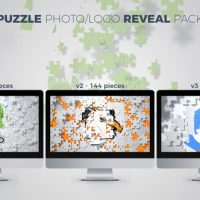 VIDEOHIVE PUZZLE PHOTO / LOGO REVEAL PACK