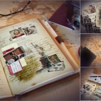 VIDEOHIVE VINTAGE TRAVEL JOURNAL