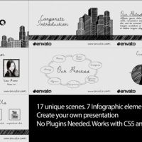 VIDEOHIVE SKETCH CORPORATE VIDEO PACK