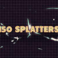 VIDEOHIVE 150 SPLATTER ANIMATIONS + OPENER