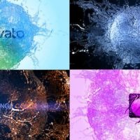 VIDEOHIVE SPLASH LOGO – PARTICLE EFFECT 11