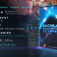 VIDEOHIVE MOSAIC TRANSITIONS KIT
