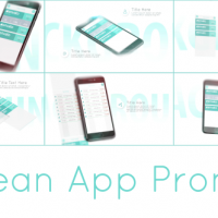 VIDEOHIVE CLEAN APP PROMO