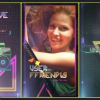 VIDEOHIVE 80S FEVER IGTV VERSION