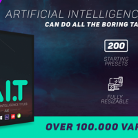 VIDEOHIVE AI.T – ARTIFICIAL INTELLIGENCE TITLES – AFTER EFFECTS SCRIPTS