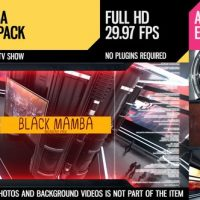 VIDEOHIVE BLACK MAMBA (BROADCAST PACK)