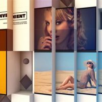 VIDEOHIVE 3D ABSTRACT CUBE DISPLAY