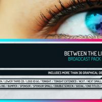 VIDEOHIVE BETWEEN THE LINES – BROADCAST PACK PRO