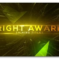 VIDEOHIVE BRIGHT AND SHINE AWARDS TITLES