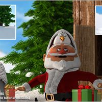 VIDEOHIVE CHRISTMAS PENGUINS V2