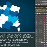 VIDEOHIVE FRANCE MAP KIT