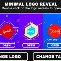 VIDEOHIVE MINIMAL LOGO REVEAL 16537857