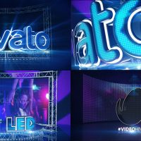VIDEOHIVE LED NEON SCREEN