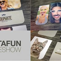 VIDEOHIVE MUSTACHES AND BEARDS FUNNY SLIDESHOW