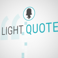 VIDEOHIVE LIGHT QUOTES