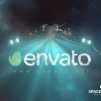 VIDEOHIVE SPACESHIP LOGO REVEAL 2