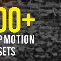 VIDEOHIVE STOP MOTION PRESETS – PREMIERE PRO