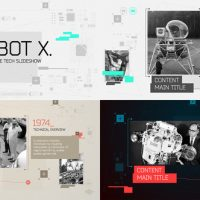 VIDEOHIVE ROBOT X. TIMELINE SLIDESHOW