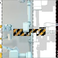 VIDEOHIVE ROBOT ARMS LOGO