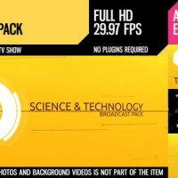 VIDEOHIVE SCITECH (BROADCAST PACK)