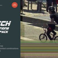 VIDEOHIVE GLITCH TRANSITIONS PACK
