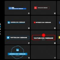 VIDEOHIVE SOCIAL MEDIA LOWER THIRDS – PREMIERE PRO