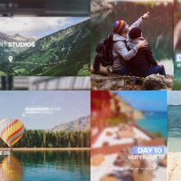 VIDEOHIVE TRAVEL MEMORIES SLIDESHOW