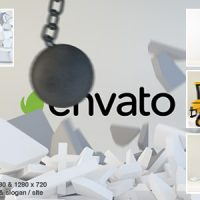 VIDEOHIVE WRECKING BALL LOGO