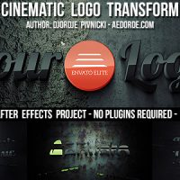 VIDEOHIVE CINEMATIC LOGO TRANSFORM