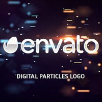 VIDEOHIVE DIGITAL PARTICLES LOGO