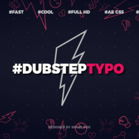 VIDEOHIVE DUBSTEP TYPOGRAPHY (OPENER)