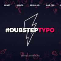 VIDEOHIVE DUBSTEP TYPOGRAPHY (OPENER)