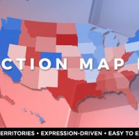 VIDEOHIVE ELECTION MAP LITE