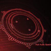 VIDEOHIVE HUD AUDIO SPECTRUM MUSIC VISUALIZER