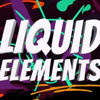 VIDEOHIVE LIQUID ELEMENTS – AFTER EFFECTS PRESETS