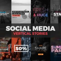 VIDEOHIVE SOCIAL MEDIA VERTICAL STORIES
