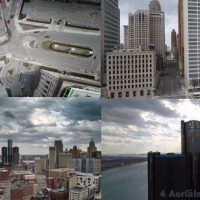 VIDEOHIVE DETROIT AERIALS – STOCK FOOTAGE